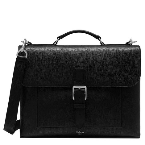 Chiltern Grained Briefcase Small, ${color}