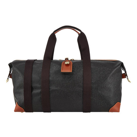 Clipper Leather Holdall Medium, ${color}