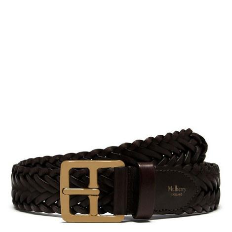 Boho Braid Buckle Belt 35mm, ${color}
