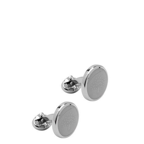 Transparent Tree Cufflinks, ${color}