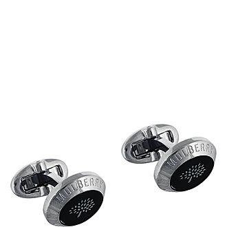 Coin Enamel Cufflinks