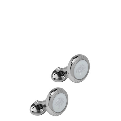 Coin Enamel Cufflinks, ${color}