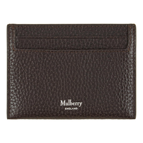 Grained Leather Card Holder, ${color}