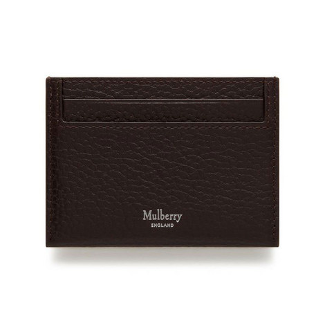 Grained Vegetable Tanned Card Holder, ${color}