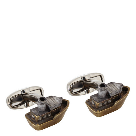 Toy Tugboat Cufflinks, ${color}