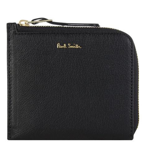 Leather Zip Cardholder, ${color}