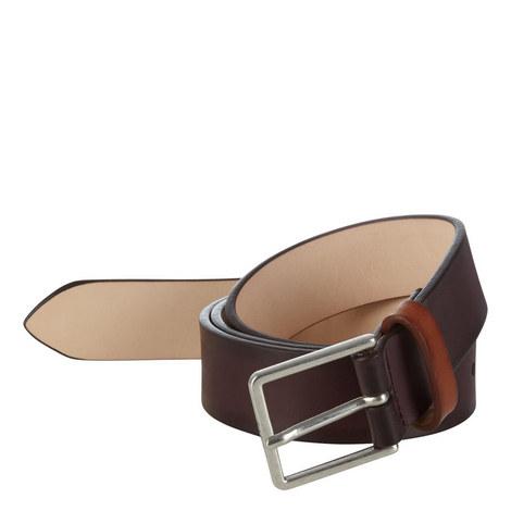 Burnished Leather Belt, ${color}