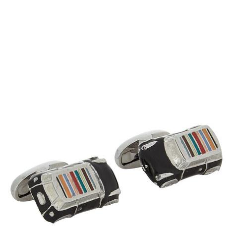 Striped Car Cufflinks, ${color}