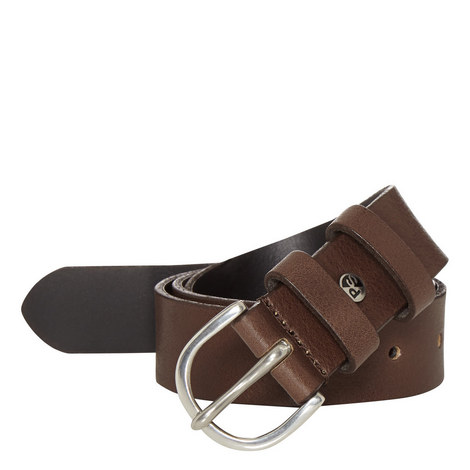Leather Double Keeper Belt, ${color}