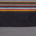 Stripe Trim Scarf, ${color}