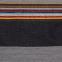 Stripe Trim Scarf, ${color}