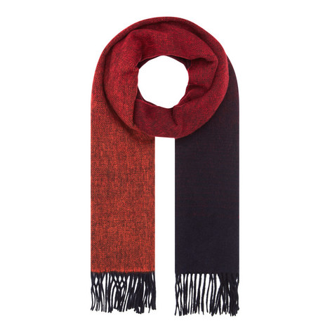 Reversible Wool Mix Scarf, ${color}