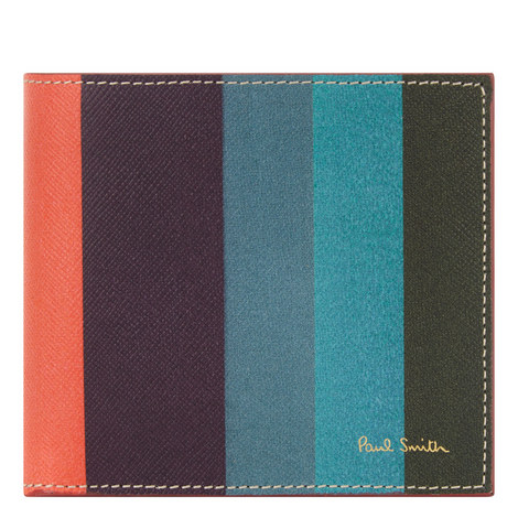 Stripe Billfold Wallet, ${color}