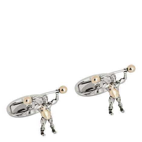 Strong Man Cufflinks, ${color}
