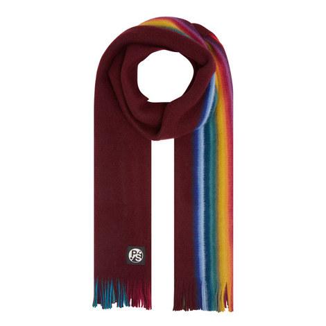 Rainbow Stripe Scarf, ${color}