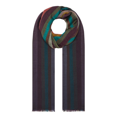 Multi Stripe Scarf, ${color}