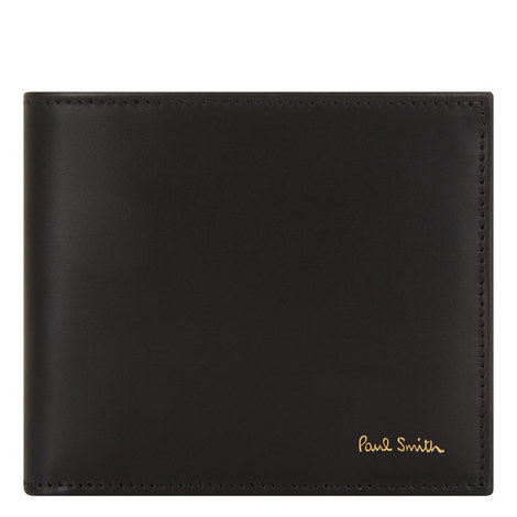 Leather Billfold Wallet, ${color}