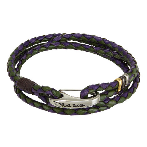 Wrap Leather Bracelet, ${color}