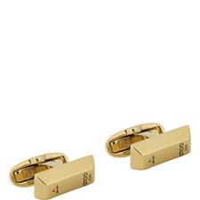 Bar of Gold Cufflinks