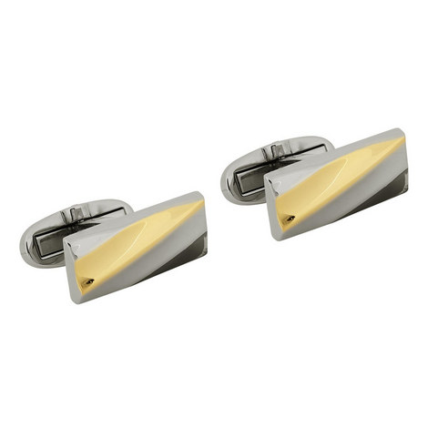 Ridged Cufflinks, ${color}