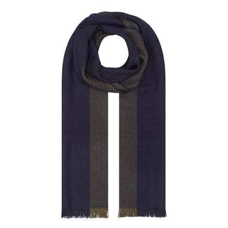 Herringbone Wool Scarf, ${color}