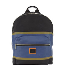 Stripe Appliqué Backpack