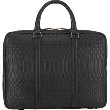 Embossed Slim Briefcase