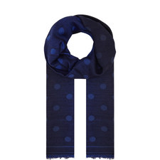 Dot Embroidered Scarf