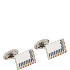 Rainbow Edge Cufflinks