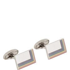 Rainbow Edge Cufflinks