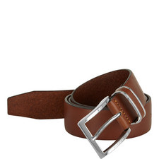 Fropping Leather Belt