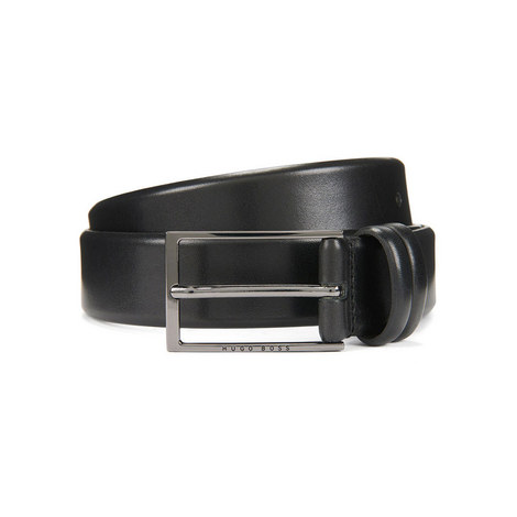 Carmello Smooth Leather Belt, ${color}