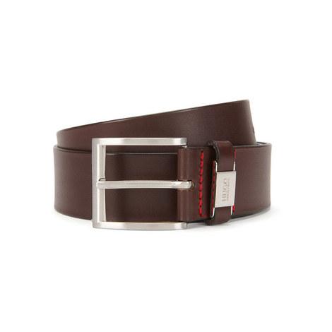 Wide Leather Belt, ${color}