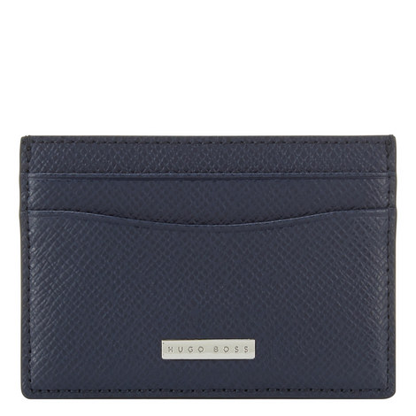 Signature S Leather Cardholder, ${color}