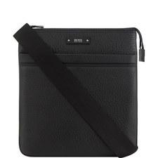 Leather Traveller Messenger Bag