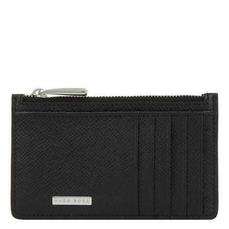 Signature Zipped Card Holder, ${color}