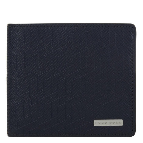 Signature Leather Billfold Wallet, ${color}