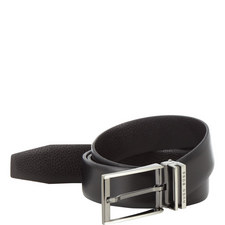 Reversible Double Buckle Belt