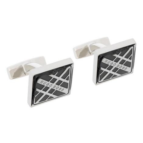 Cole Stripe Cufflinks, ${color}