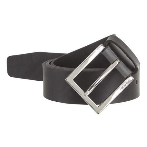 Cele Matte Leather Belt, ${color}