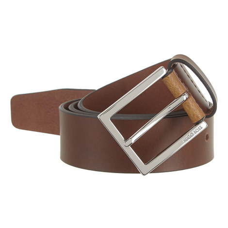 Cele Matte Leather Belt , ${color}
