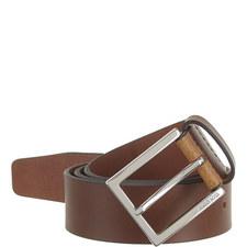 Cele Matte Leather Belt