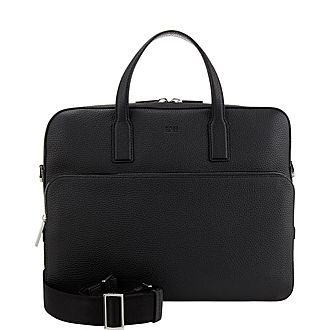Crosstown Leather Briefcase