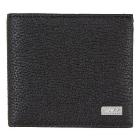 Crosstown Grained Leather Wallet, ${color}