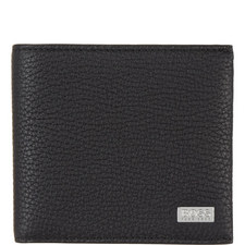 Crosstown Grained Leather Wallet