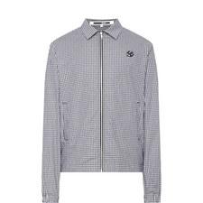 Gingham Shirt Jacket