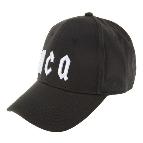 Gothic Logo Baseball Cap, ${color}
