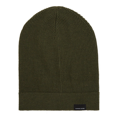 Waffle Knit Beanie Hat, ${color}