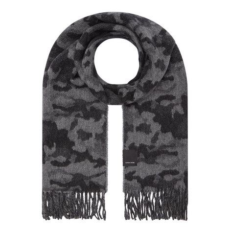 Woven Camouflage Scarf, ${color}