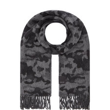 Woven Camouflage Scarf